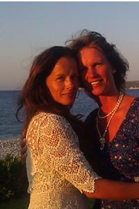 Malin och Carina, Ilalyssos beach, Rhodos 2012