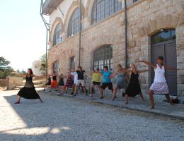 Yoga med Malin Berghagen - Rhodos 2012