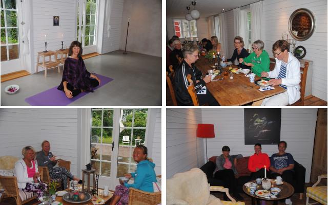 Yinyoga med frukost Säbyholmsgård Carina Holgersson 2 juli 2016